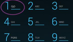 touche appel repondeur sous Android 4.2