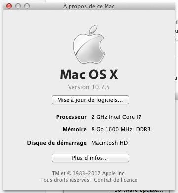 version MAC a propos