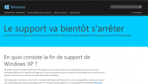 le support de Windows XP prend fin