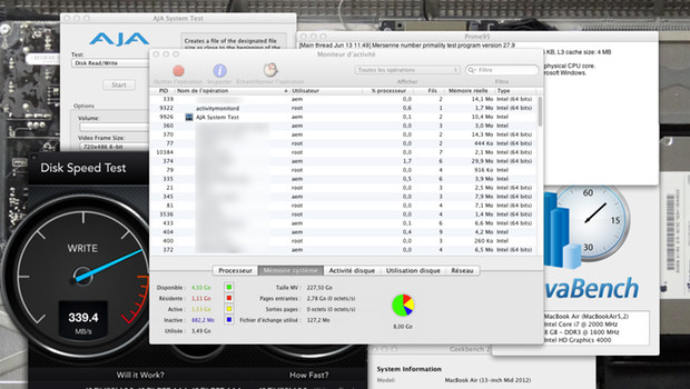 logiciel benchmark mac os