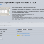 remove-duplicate-messages