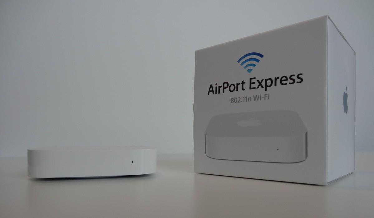 deballage borne AirPort Express v2